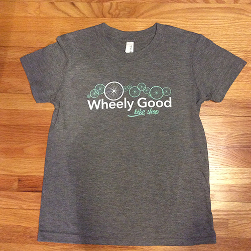 Wheely Good Bike Shop Boy's T-shirt