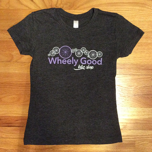 Wheely Good Bike Shop Girl's T-shirt