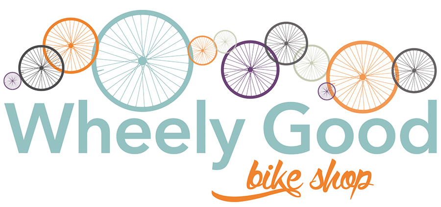Wheely Good Bike Shop Logo