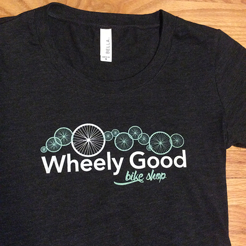 Bella Wheely Good Bike Shop Women's Tee