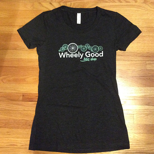 Wheely Good Bike Shop Women's Tee | Bella