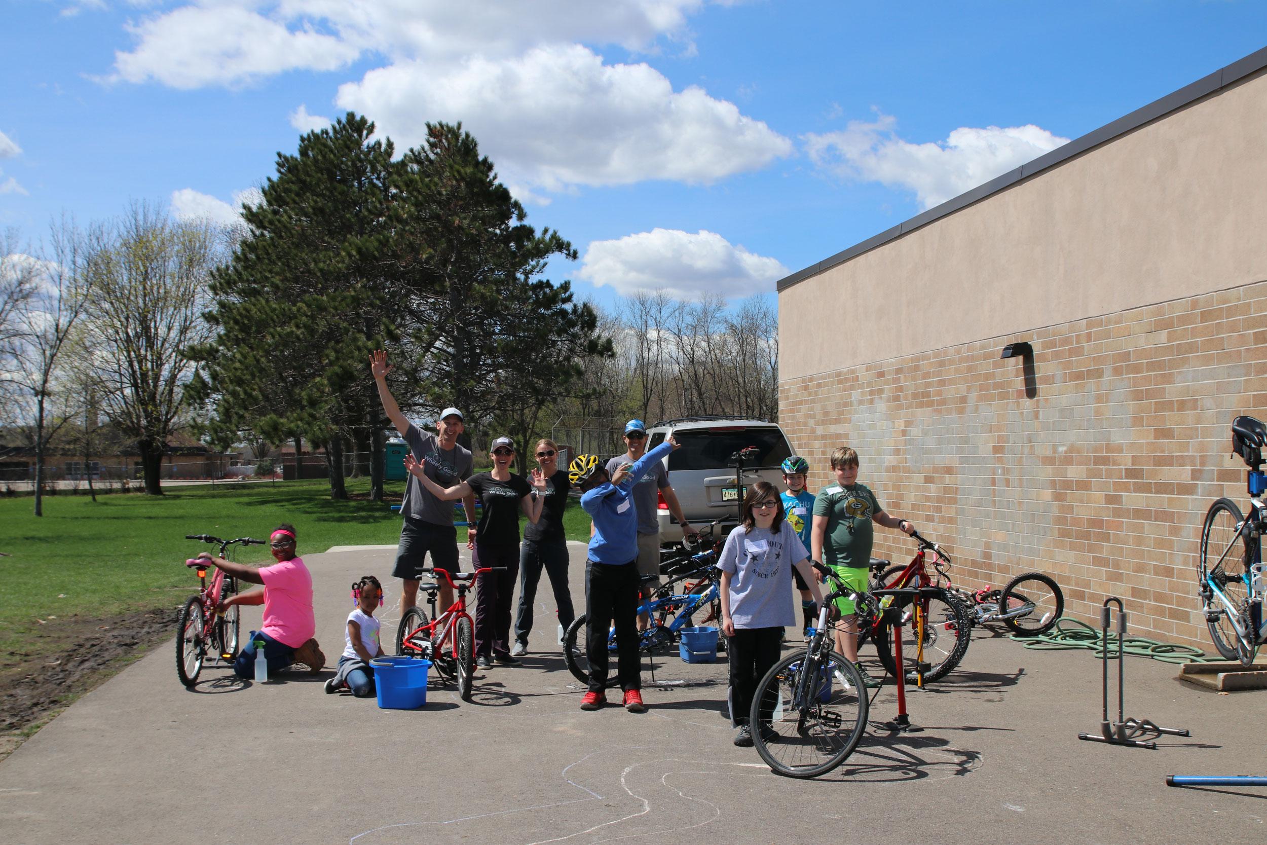 Kids College, Wheely Good Bike Shop, Birchview Elementary