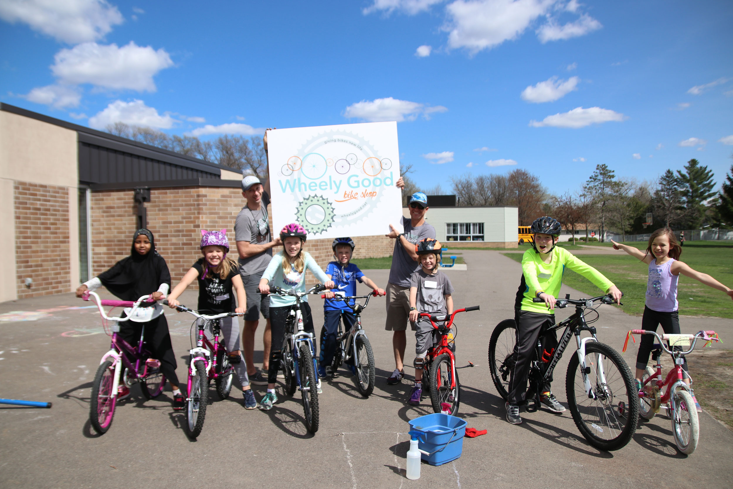 Kids College, Wheely Good Bike Shop, Birchview Elementary