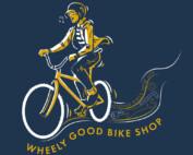 Blissful Biker - Artist Print - Sketchy Trails