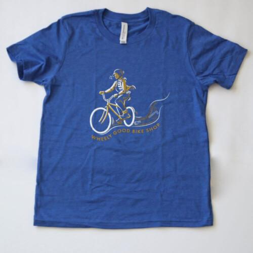 Wheely Good Blissful Biker - Kid's Blue
