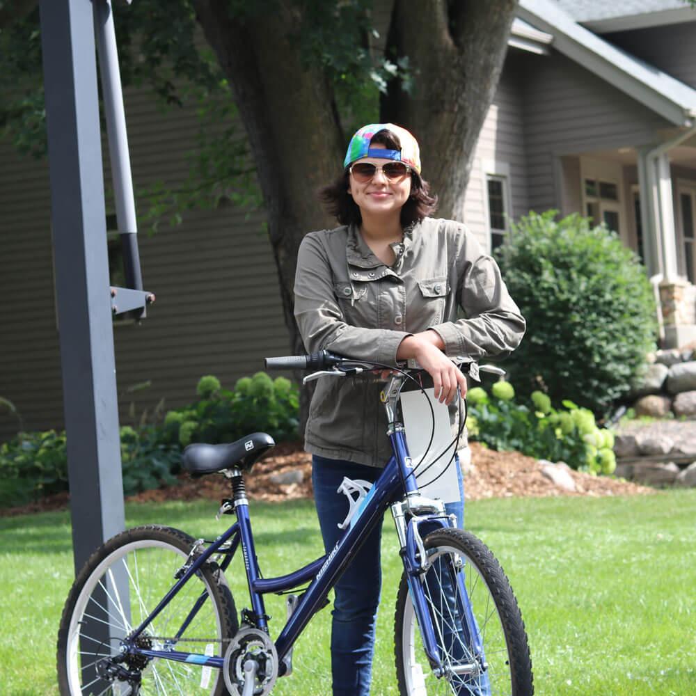 Wheely Good Bike Shop Sunny Day